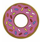 美國 Silli Chews 粉紅草莓甜甜圈咬牙器/固齒器(3M+)