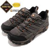 Merrell 戶外鞋 Moab 2 GTX Wide 灰 黑 寬楦頭 Gore-Tex 防水 透氣 越野 休閒鞋 運動鞋 男鞋【PUMP306】 ML06039W