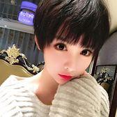 短假髮 網紅氣質假髮女短髮造型bobo帥氣齊耳短直髮逼真自然韓國學生頭套 免運直出