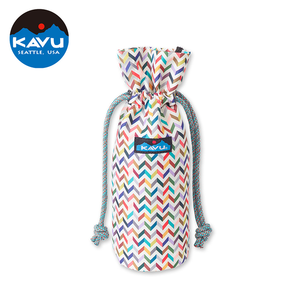 【西雅圖 KAVU】Napa Sack 休閒拉繩提袋 | 水瓶袋 彩色太妃 #9063