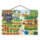 法國 Janod 磁鐵遊戲板-花園農場...