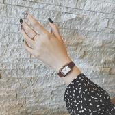 方形手錶女大學生韓版職業女性氣質簡約大學生女生復古潮ins百搭     蘑菇街小屋