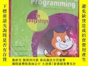 二手書博民逛書店Scratch罕見Programming in Easy Ste