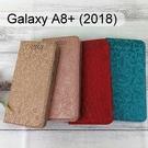 迪士尼皮套 [繽紛] Samsung Galaxy A8+ (2018) 6吋 米奇、米妮、小熊維尼、史迪奇【Disney正版】