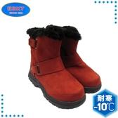 【ESKT 台灣 童 中筒雪鞋《紅》】SN165/冰爪/保暖雪靴/雪地行走/旅遊/靴子
