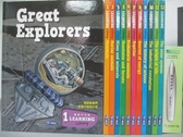 【書寶二手書T1/兒童文學_RBB】學習圖書館 Learning Library 智慧筆學習套組_12冊+點讀筆合售