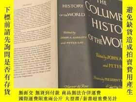 二手書博民逛書店THE罕見COLUMBIA HISTORY OF THE WOR