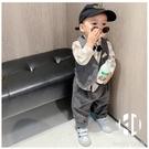 男童春裝套裝一周歲男孩衣服帥氣生日男寶寶三件套【Kacey Devlin】