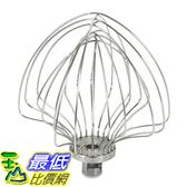 [美國直購] KitchenAid 攪拌機配件 攪拌頭 KN211WW 11-Wire Whip for 6QT KV25G KP26M1X