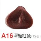 【燙後染髮】奇靈鳥 二代染髮劑 A16-深榴紅色 [62817]