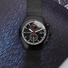CITIZEN 星辰 光動能計時手錶-黑/43.5mm CA7015-82E