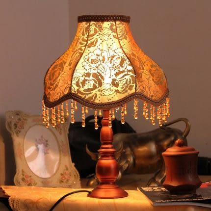 【美蒂燈飾】中式古典台燈 賓館台燈 臥室床頭台燈