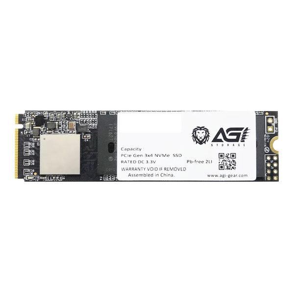 【免運費】AGI 亞奇雷 512GB M.2 NVMe SSD 固態硬碟 公司貨 512G