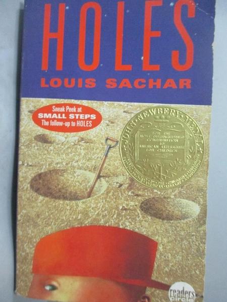 【書寶二手書T8/原文小說_LNK】Holes_Sachar, Louis