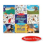 美國瑪莉莎 Melissa & Doug 貼紙簿 - 可重複貼紙 - 聖經故事