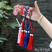 中國風發箍新年女童流蘇發夾兒童假耳墜頭箍發飾春節發卡漢服配飾 韓小姐
