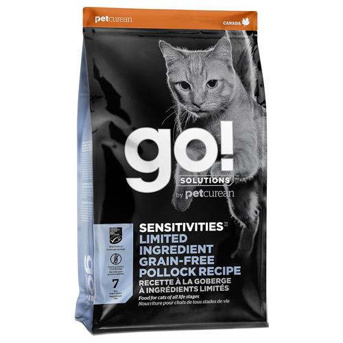 【寵物王國】Go!低致敏鱈魚 無穀全貓糧16磅/7.2kg