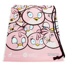 Angry Birds 粉紅史黛西 束口袋