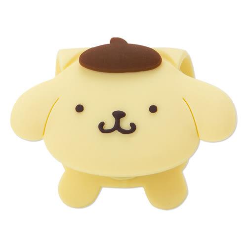 《Sanrio》布丁狗可愛抱抱造型多功能矽膠扣夾_960578