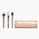 Sigma BLOOM + GLOW BRUSH SET 玫瑰金 臉部專業化妝刷+刷包【愛來客 】美國官方授權經銷商