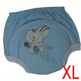 舒適牌 學習褲/學步褲-藍色 XL號