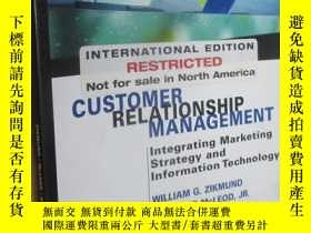 二手書博民逛書店CUSTOMER罕見RELATIONSHIP MANAGEMENT:Integratiin Marketing s