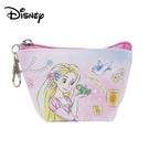 【日本正版】長髮公主 船型 零錢包 收納包 小物收納 樂佩 魔髮奇緣 迪士尼 Disney - 078097