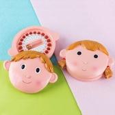 乳芽紀念盒女孩兒童嬰兒胎毛掉芽換芽保存收藏盒可愛日本芽屋男孩 格蘭小鋪