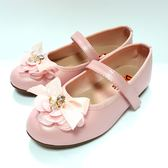氣質 緞帶蝴蝶結 公主鞋《7+1童鞋》C627粉色