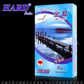情趣用品 保險套-含微量潤滑液 Fulex 夫力士 HARD-金犀超薄型保險套(12入裝)