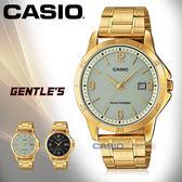 CASIO 卡西歐 手錶專賣店 MTP-VS02G-9A 男錶 不鏽鋼錶帶  太陽能 防水 日期顯示