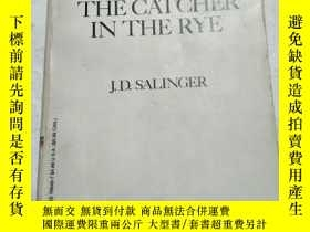 二手書博民逛書店The罕見catcher in the rye【英文老版 麥田裏