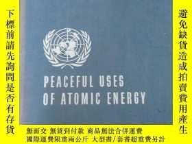 二手書博民逛書店英文版罕見PEACEFUL USES OF ATOMIC ENERCY 日內瓦和平利用原子能國際會議論文集 第12