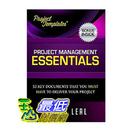 [104美國直購] PROJECT TEMPLATES® - 52 Essential Project Management Documents - CD ROM - Processes
