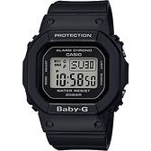 CASIO 卡西歐Baby-G 人氣經典電子錶-黑 BGD-560-1DR