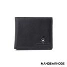 MANDE RHODE - 巴弗洛 - 質感真皮訂製簡約短夾 - 86341-B