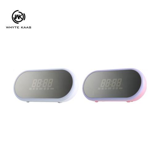 WK SP290 鏡面藍芽音箱 喇叭 鬧鐘 鏡面 便攜 台灣公司貨