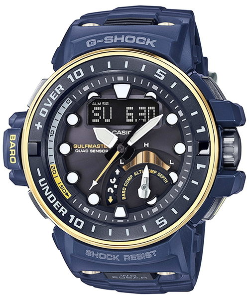 CASIO卡西歐G-SHOCK GULFMASTER電波錶(GWN-Q1000NV-2A)
