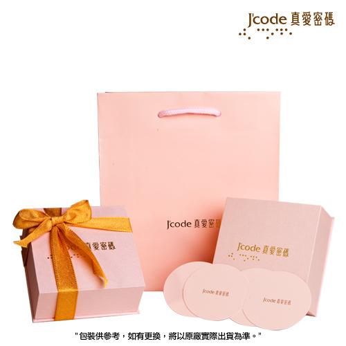 J'code真愛密碼金飾 愛狐仙黃金編織手鍊-小(紅)
