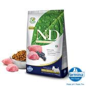 法米納ND挑嘴成犬無穀糧-羊肉藍莓(小顆粒)2.5kg*2(A311C09-1)