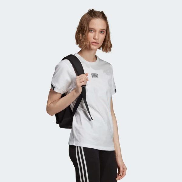 ADIDAS VOCAL T SHIRT 女裝 短袖 休閒 慢跑 透氣 基本款 舒適 白【運動世界】ED5844