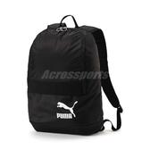 Puma 後背包 Originals Backpack Tren 男女款 包包 書包 雙肩背 黑 白 黑白 【PUMP306】 07544201