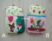 ☆草莓牛奶屋☆日本進口【Bear's School小熊學校】泡棉系列胸掛式珠扣包