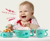 轉碗食 寶寶注水保溫碗嬰幼兒童餐具套裝不銹鋼防摔吃飯嬰兒輔食碗勺吸盤 情人節禮物
