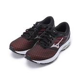 MIZUNO WAVE PRODIGY 3 慢跑鞋 黑紅 J1GD201038 女鞋