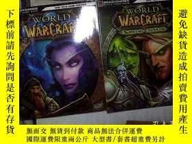 二手書博民逛書店WORLD罕見OF WARCRAFT(2本書+2張光盤+2本小冊