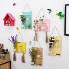 創意壁掛水培花瓶牆面壁飾掛件花藝田園家居牆上掛飾牆壁裝飾品 喵小姐