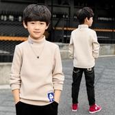7兒童裝男童秋冬裝加絨加厚長袖打底衫t恤2019新款中大童套頭韓版