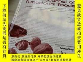 二手書博民逛書店JOURNAL罕見OF FUNCTIONAL FOODSY270289