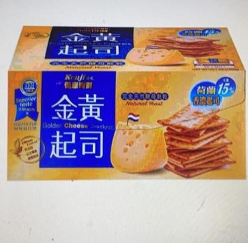 [COSCO代購] W81989 健康時刻金黃起司餅乾 28.5公克 X 45包